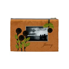 Cosmetic Bag (m) My Flower Garden 2 By Jennyl   Cosmetic Bag (medium)   B73w9o9wf0u6   Www Artscow Com Back