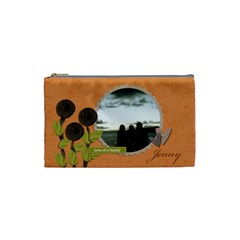 Cosmetic Bag (s) My Flower Garden 2 By Jennyl   Cosmetic Bag (small)   Thl58pd7j9qz   Www Artscow Com Front
