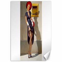 Retro Pin Up Girl Canvas 20  X 30  (unframed) by PinUpGallery