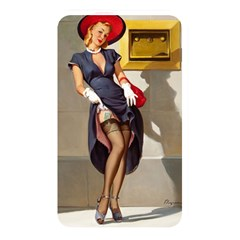 Retro Pin Up Girl Memory Card Reader (rectangular) by PinUpGallery