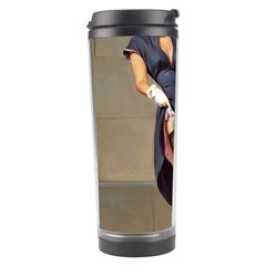 Retro Pin Up Girl Travel Tumbler by PinUpGallery