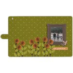 Apple iPad 3/4 Leather Folio Case- Love Grows Here