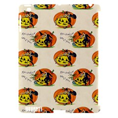 Hallowe en Greetings  Apple iPad 3/4 Hardshell Case (Compatible with Smart Cover) by EndlessVintage