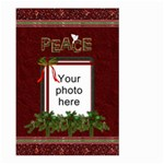 Christmas Peace Large Garden Flag (2 sides) - Large Garden Flag (Two Sides)
