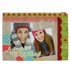 Christmas Gift By Merry Christmas   Cosmetic Bag (xxl)   Helqe0n3vxik   Www Artscow Com Back