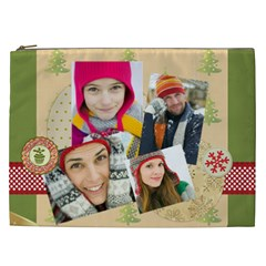 Christmas Gift By Merry Christmas   Cosmetic Bag (xxl)   Ghquvqz387by   Www Artscow Com Front