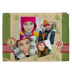 Christmas Gift By Merry Christmas   Cosmetic Bag (xxl)   Ghquvqz387by   Www Artscow Com Back