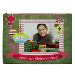 Christmas Gift By Merry Christmas   Cosmetic Bag (xxl)   Xtmautp9ruta   Www Artscow Com Front
