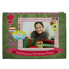 Christmas Gift By Merry Christmas   Cosmetic Bag (xxl)   Xtmautp9ruta   Www Artscow Com Back