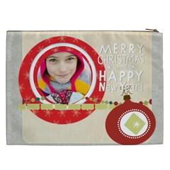 Christmas Gift By Merry Christmas   Cosmetic Bag (xxl)   Yfgqv7uml1cv   Www Artscow Com Back