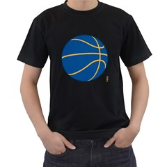 Golden State Warriors Basketballshirt Mens' T Shirt (black)