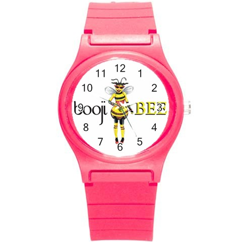 Boojiwatch By Dannielle   Round Plastic Sport Watch (s)   Nxa5j2s6arwf   Www Artscow Com Front