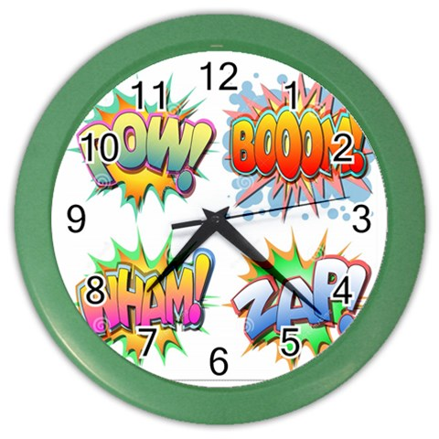 By Parul   Color Wall Clock   Isb1kug4re2v   Www Artscow Com Front