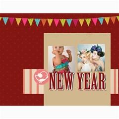 Year Calendar By C1   Wall Calendar 11  X 8 5  (12 Months)   Gcfamue2r9wy   Www Artscow Com Month