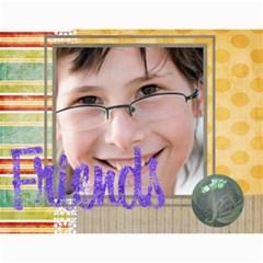 Year Calendar By C1   Wall Calendar 11  X 8 5  (12 Months)   R3kz76vncaxm   Www Artscow Com Month