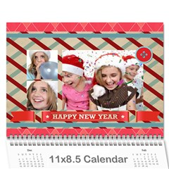 Year Calendar By C1   Wall Calendar 11  X 8 5  (12 Months)   7sovornqk0wt   Www Artscow Com Cover