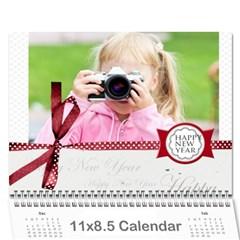 Year Calendar By C1   Wall Calendar 11  X 8 5  (12 Months)   Hohxb91pb0ks   Www Artscow Com Cover
