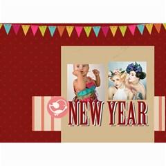 Year Calendar By C1   Wall Calendar 8 5  X 6    5susgpxop77w   Www Artscow Com Month