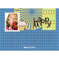 Year Of Calendar By C1   Desktop Calendar 8 5  X 6    1gkrmjicuzbo   Www Artscow Com Mar 2014