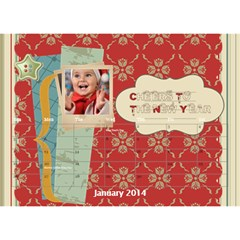 Year Of Calendar By C1   Desktop Calendar 8 5  X 6    Wnqm1toxsmsr   Www Artscow Com Jan 2014