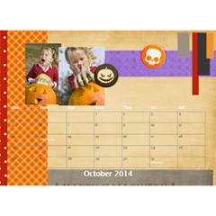 Year Of Calendar By C1   Desktop Calendar 8 5  X 6    Wnqm1toxsmsr   Www Artscow Com Oct 2014