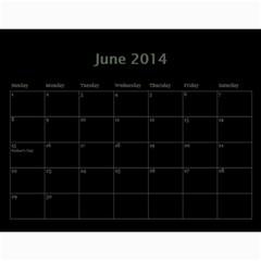 Dug 2014 By Nikki Johnson   Wall Calendar 11  X 8 5  (12 Months)   Lg9kkbrsjig0   Www Artscow Com Jun 2014