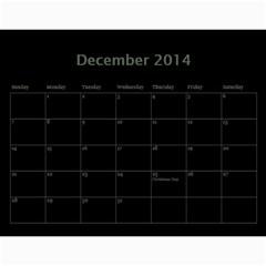 Dug 2014 By Nikki Johnson   Wall Calendar 11  X 8 5  (12 Months)   Lg9kkbrsjig0   Www Artscow Com Dec 2014
