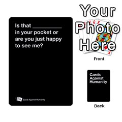 Cah Black Cards 5 By Steven   Playing Cards 54 Designs   Uy8uc10o8zpx   Www Artscow Com Front - Heart7