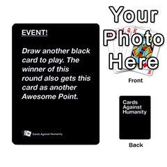 Cah Black Cards 5 By Steven   Playing Cards 54 Designs   Uy8uc10o8zpx   Www Artscow Com Front - Club8