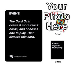 Cah Black Cards 5 By Steven   Playing Cards 54 Designs   Uy8uc10o8zpx   Www Artscow Com Front - Club9