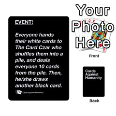 Queen Cah Black Cards 5 By Steven   Playing Cards 54 Designs   Uy8uc10o8zpx   Www Artscow Com Front - ClubQ