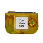 Yellow Daisy Mini Coin Purse