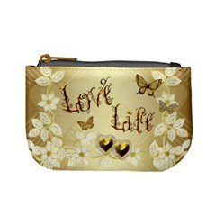 Wedding Floral Love8 No Frame Sample Coin Purse By Ellan   Mini Coin Purse   Locflqapq8xx   Www Artscow Com Front