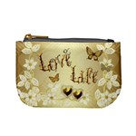 Wedding Floral Love8 no frame sample coin purse - Mini Coin Purse