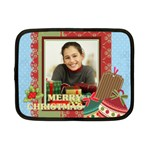 merry christmas - Netbook Case (Small)