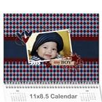 Wall Calendar 11 x 8.5 - My Boy - Wall Calendar 11  x 8.5  (12-Months)