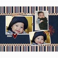Wall Calendar 11 X 8 5   My Boy By Jennyl   Wall Calendar 11  X 8 5  (12 Months)   4l5tk5c7jks1   Www Artscow Com Month