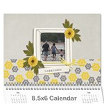 Wall Calendar 8.5 x 6 - Happiness - Wall Calendar 8.5  x 6