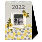 Desktop Calendar 6  x 8.5  - Happiness