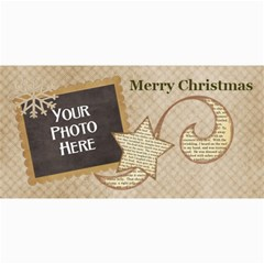 And To All A Good Night Card 2 By Lisa Minor   4  X 8  Photo Cards   5rebttk9r564   Www Artscow Com 8 x4 Photo Card - 4