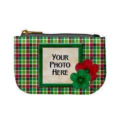Merry And Bright Coin Bag 2 By Lisa Minor   Mini Coin Purse   Un953vyvccnx   Www Artscow Com Front