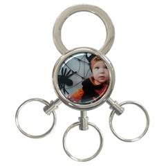 Wp 003147 2 3-Ring Key Chain
