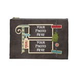 Thoughts of Friendship Large Cosmetic Bag 5 - Cosmetic Bag (Large)