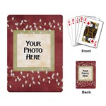 And to All a Good Night Playing Cards 2 - Playing Cards Single Design