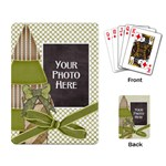 Peace Joy Love Playing Cards 1 - Playing Cards Single Design