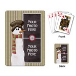 Peace Joy Love Playing Cards 3 - Playing Cards Single Design