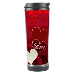 Red Love Travel Tumbler By Ellan   Travel Tumbler   Rvq4b7s9z7rt   Www Artscow Com Center