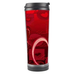 Red Love Travel Tumbler By Ellan   Travel Tumbler   Rvq4b7s9z7rt   Www Artscow Com Right