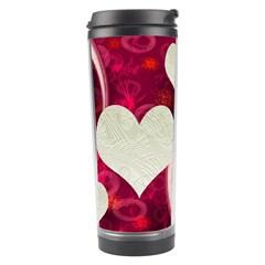 Pink Love Travel Tumbler By Ellan   Travel Tumbler   1e0c5age8lhh   Www Artscow Com Center