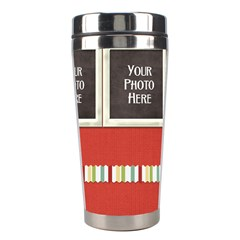 Happy Holidays Tumbler By Lisa Minor   Stainless Steel Travel Tumbler   Wb6iccb0pjog   Www Artscow Com Right